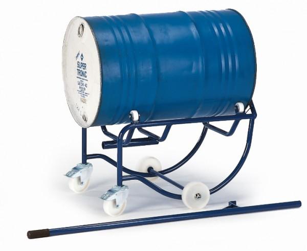 ROLLCART 18-3201 Fasskipper, 200 Liter, Polyamid-Rollen