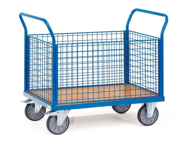 Fetra Vierwandwagen mit Drahtgitterwänden bis 600 kg