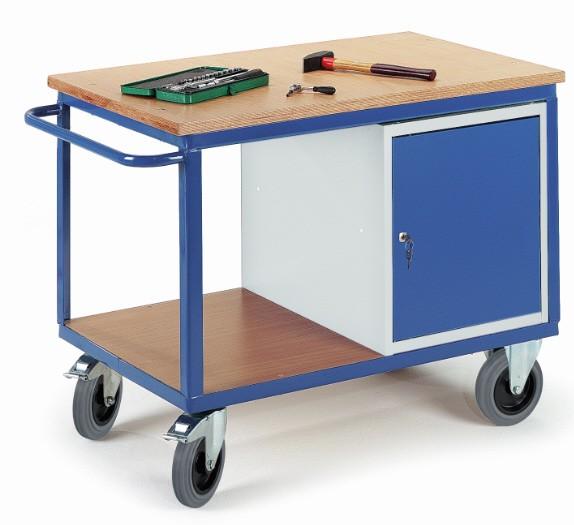 ROLLCART 07-4306 Werkstattwagen mit Stahlschrank