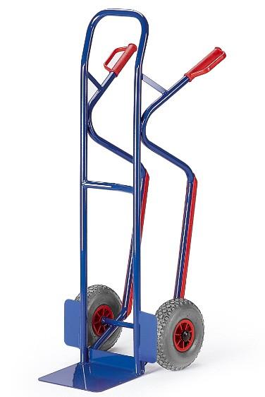 ROLLCART Stapelkarre mit Treppenrutschkufen