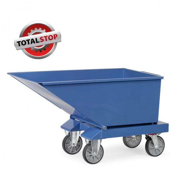 Fetra Muldenkipper, 750 kg, 250 Liter Inhalt, TOTALSTOP