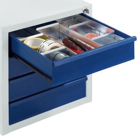 ROLLCART 07-4311 Schubladeneinteilungsset für 1 Schublade