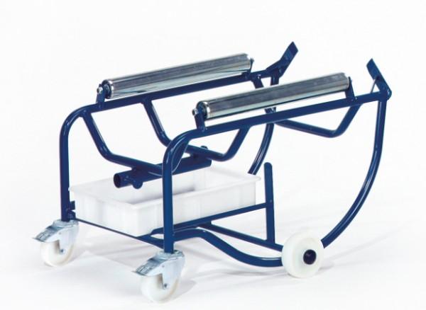 ROLLCART 18-3202 Fasskipper, 200 Liter, Metallrollen