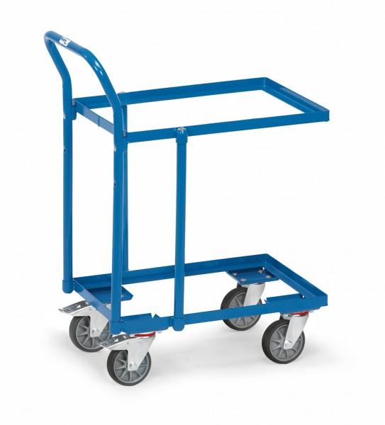 Fetra 135600 Etagen-Roller, offener Rahmen, Rohrschiebebügel
