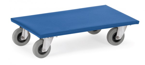 Fetra Möbelroller, bis 300 kg, Vollgummi-Bereifung