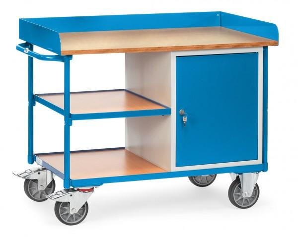 Fetra 2435 Werkstattwagen mit verschließbarem Schrank, 400 kg