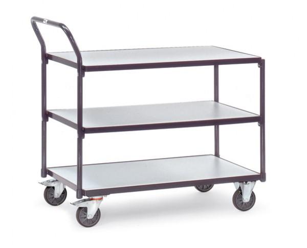 Fetra ESD-Tischwagen mit drei Böden, 300 kg