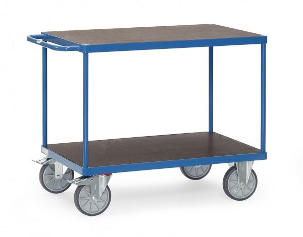Fetra Tischwagen mit wasserfesten Plattformen