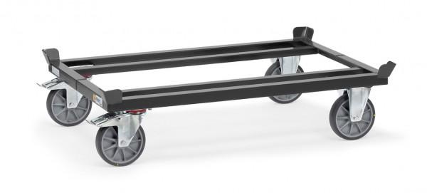 Fetra ESD-Paletten-Fahrgestell für Flachpaletten und Gitterboxen, 750 kg