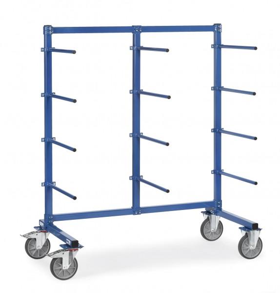 Fetra Tragarmwagen 500 kg, 12 Tragarme einseitig