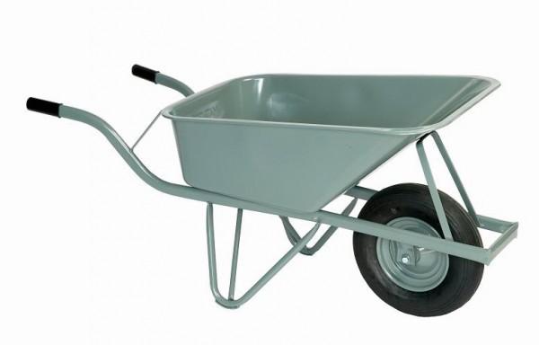 ROLLCART 63-1010 Schubkarre, eckige Mulde, 100 Liter