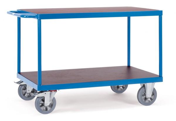 Fetra schwerer Tischwagen, rechteckige Ladefläche, 1200 kg
