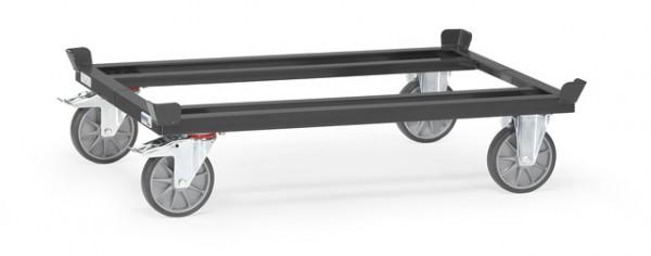 """Fetra 22801/7016 Paletten-Fahrgestell """"GREY EDITION"""" 750 kg, für Flachpaletten und Gitterboxen, TPE"""