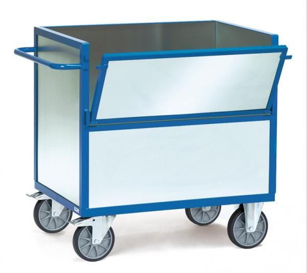 Fetra Blechkastenwagen mit Wänden aus verzinktem Stahlblech