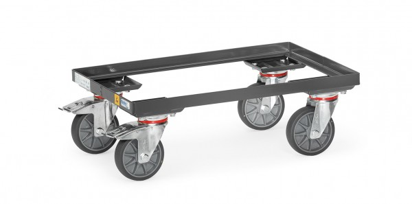 Fetra 93580 ESD-Eurokasten-Roller, offener Rahmen, 250 kg