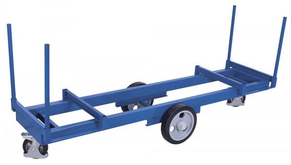 VARIOfit Langmaterialwagen mit vier Rungen