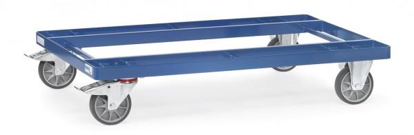 Fetra 22501 Leichtes Paletten-Fahrgestell, 500 kg, TPE