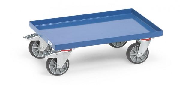 Fetra 13585 Eurokasten-Roller mit Blechplattform, 250 kg