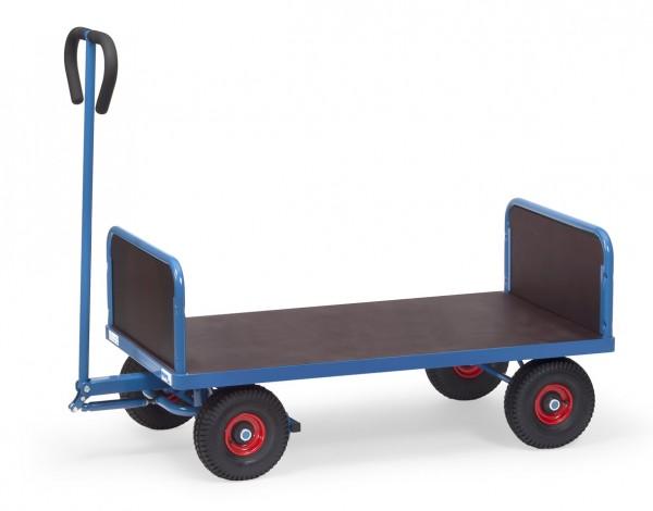 Fetra Handwagen mit zwei Stirnwänden, 500 kg