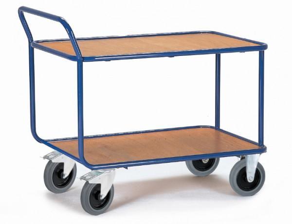 ROLLCART Tischwagen, Rohrrahmen, 500 kg Tragkraft