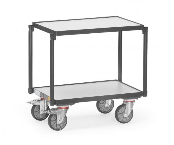 Fetra 93540 ESD-Eurokasten-Roller mit zwei Böden aus Holz, 250 kg