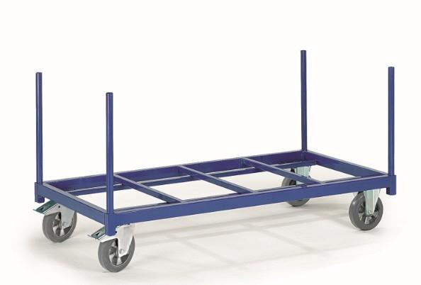ROLLCART Rungenwagen, offen, 1200 kg Tragkraft