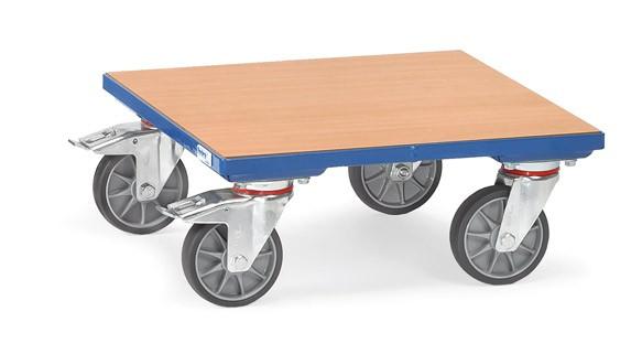 Fetra Kistenroller mit Holz-Plattform, 400 kg