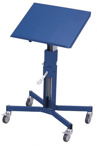 VARIOfit sw-405.012 Materialständer mit Handkurbel, höhenverstellbar von 680 - 1055 mm