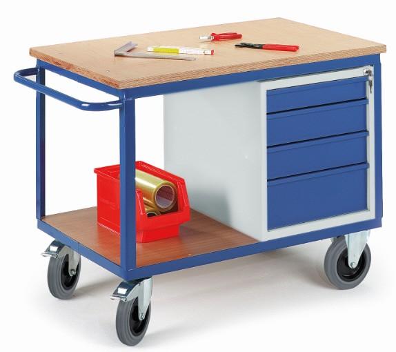 ROLLCART 07-4308 Werkstattwagen mit Schubladen
