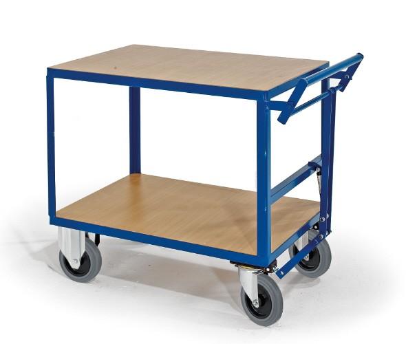 ROLLCART Tischwagen mit Totmannbremse