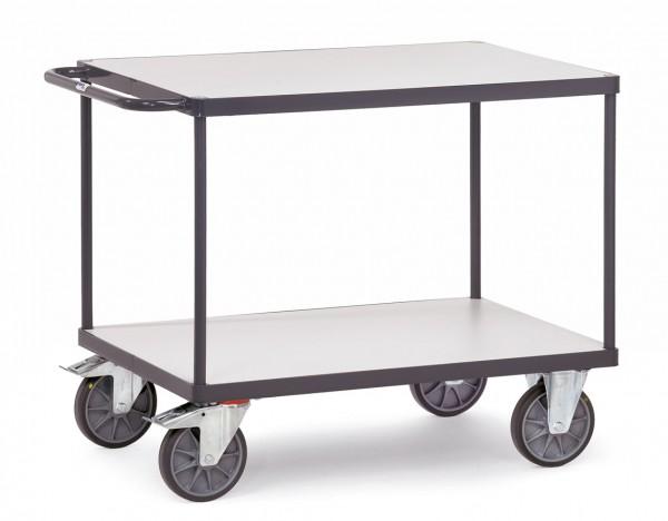 Fetra ESD-Tischwagen mit zwei Böden bis 600 kg
