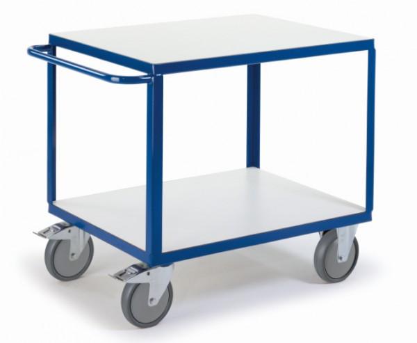ROLLCART Großer Tischwagen mit zwei Etagen, ESD