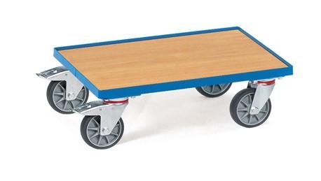 Fetra 13581 Eurokasten-Roller mit Bodenplatte und Rand, 250 kg