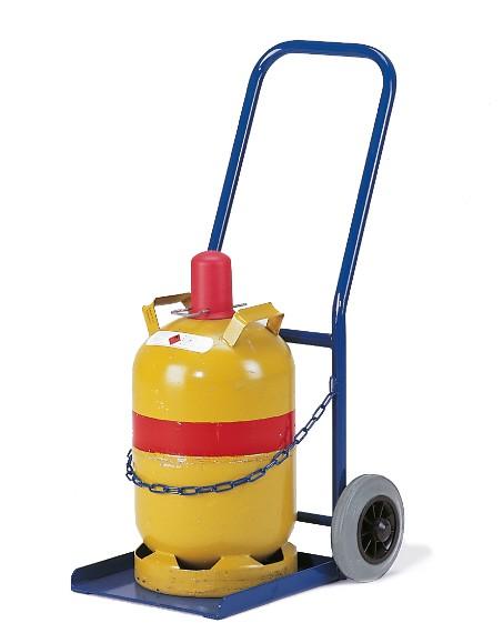 ROLLCART Propangasflaschenroller, 1x 11 Liter-Flasche
