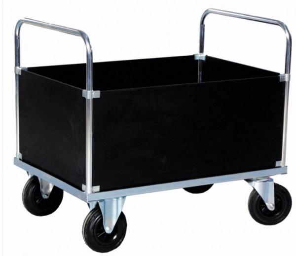 ROLLCART Vierwandwagen verzinkt, 500 kg Tragkraft