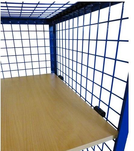 ROLLCART Etagenboden aus Holzwerkstoffplatte (MDF)
