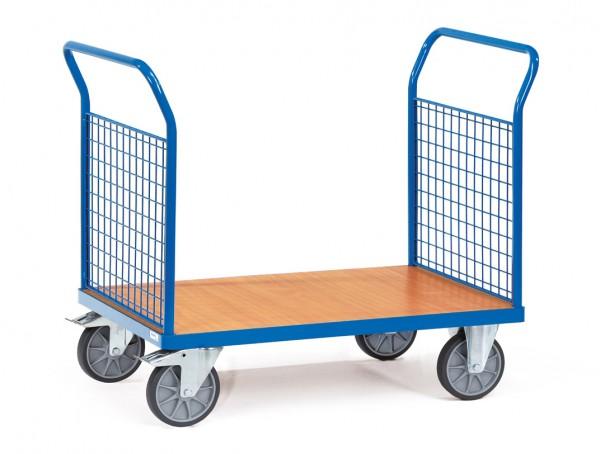 Fetra Doppel-Stirnwandwagen mit Drahtgitter-Stirnwände bis 600 kg