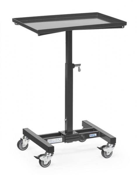 "Fetra 3270/7016 Materialständer ""GREY EDITION"" 150 kg, höhenverstellbar von 720-995 mm"