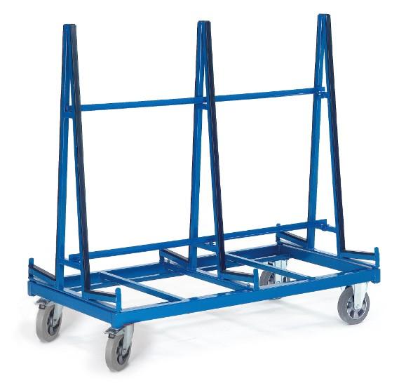 ROLLCART Plattenwagen/zweiseitig, 1200 kg Tragkraft
