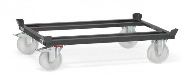 "Fetra 22881/7016 Paletten-Fahrgestell ""GREY EDITION"" 1050 kg, Polyamid-Bereifung"