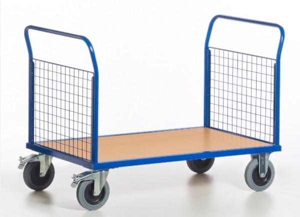 ROLLCART Gitter-Doppelstirnwandwagen