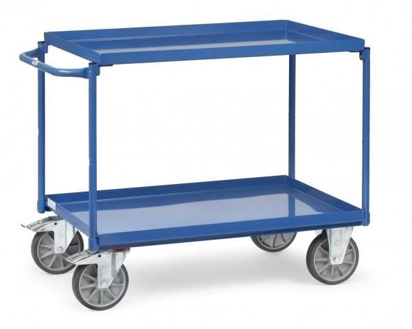 Fetra Tischwagen mit zwei öldichten Stahlblechwannen 400 kg
