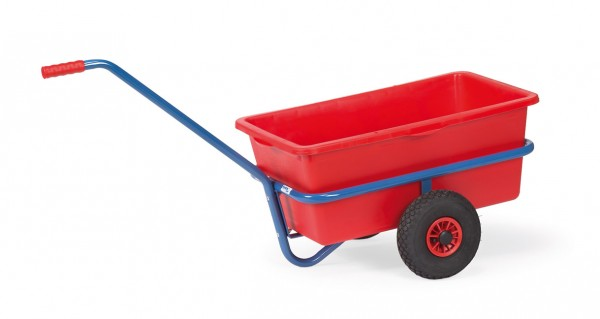 Fetra Handwagen mit herausnehmbarer Kunststoffmulde