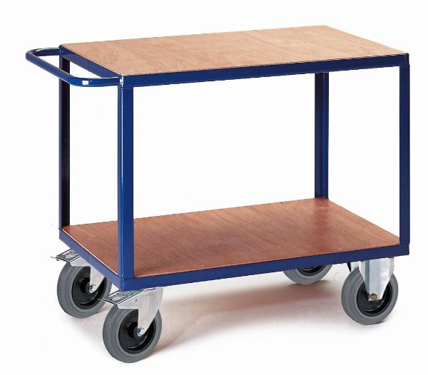 ROLLCART Tischwagen zwei Ladeflächen, 600 kg Tragkraft