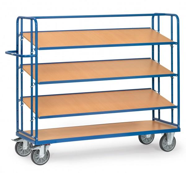 Fetra Etagenwagen mit drei verstellbaren Böden, 500 kg