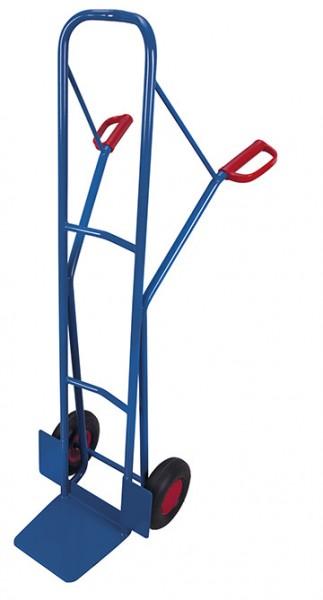 VARIOfit Hohe Stahlrohrkarre, 250 kg, Höhe 1600 mm
