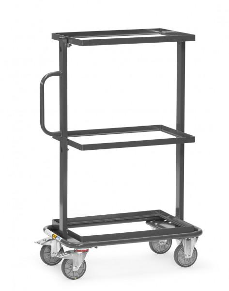 Fetra 92900 ESD-Beistellwagen mit offenem Rahmen, 200 kg