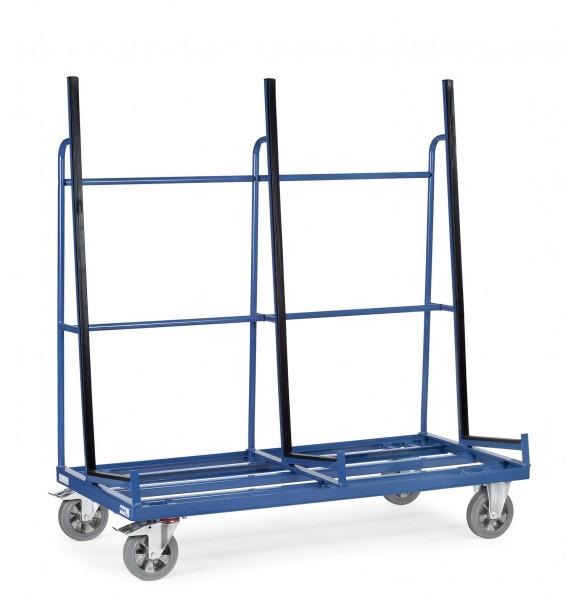 Fetra Plattenwagen, einseitige Anlage mit Profilgummi, 1200 kg