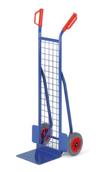 ROLLCART Kleine Gitter-Stapelkarre, 200 kg Tragkraft