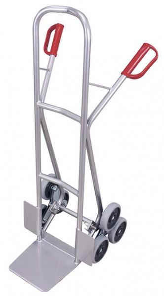 VARIOfit ap-1300 Aluminium Treppenkarre mit zwei dreiarmigen Radsternen